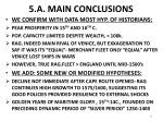 5 a main conclusions