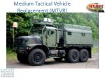 medium tactical vehicle replacement mtvr