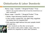 globalization labor standards