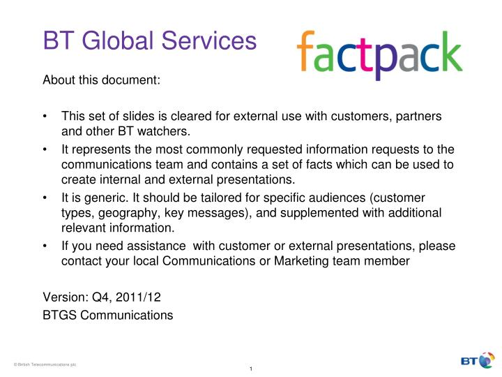 bt global services n.