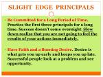 slight edge principals1