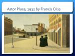 astor place 1932 by francis criss1