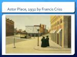 astor place 1932 by francis criss2