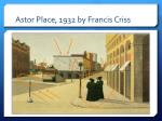 astor place 1932 by francis criss8