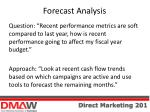 forecast analysis