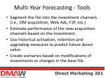multi year forecasting tools