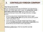 2 controlled foreign company1