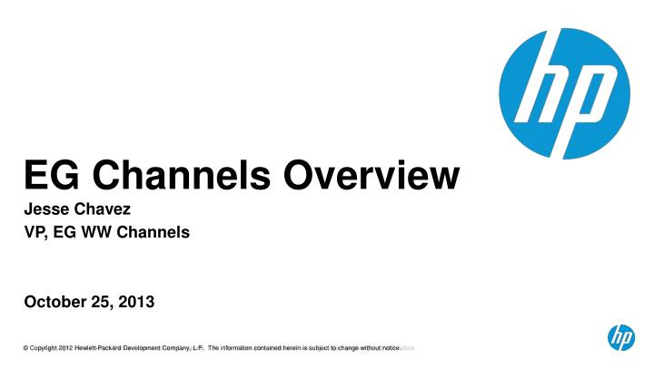eg channels overview n.