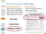 email best practices call to action