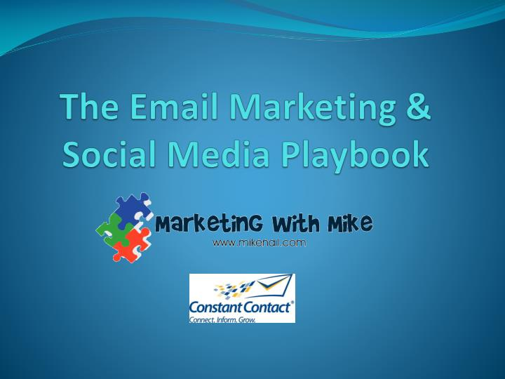 the email marketing social media playbook n.