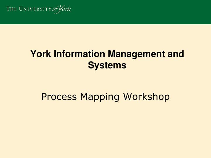 york information management and systems n.