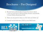 brochures pre designed