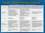 current state process analysis