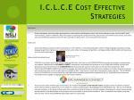 i c l c e cost effective strategies