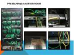 prestariang s server room