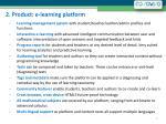 2 product e learning platform