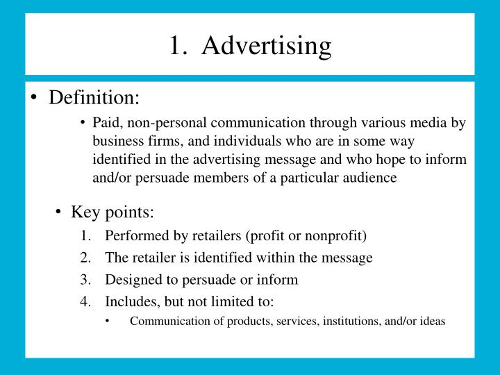 Ppt special advertising situations powerpoint presentation id.