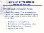 division of vocational rehabilitation1