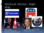political parties right wing