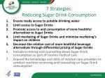 7 strategies reducing sugar drink consumption
