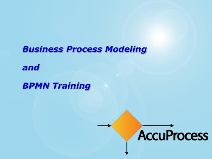 business process modeling and bpmn training n.