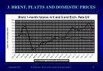 3 brent platts and domestic prices