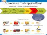 e commerce challenges in kenya