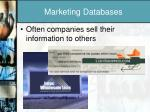 marketing databases1