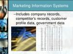 marketing information systems1