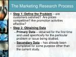the marketing research process1