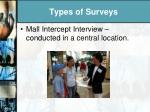 types of surveys1