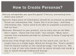 how to create personas1