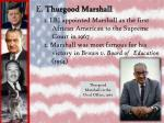 e thurgood marshall
