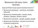 ressources cl s pour notre business