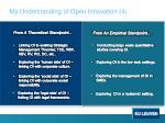 my understanding of open innovation 4