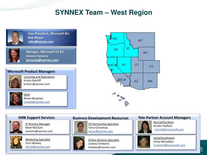 SYNNEX Team – West Region