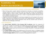 planning the north sea region 2