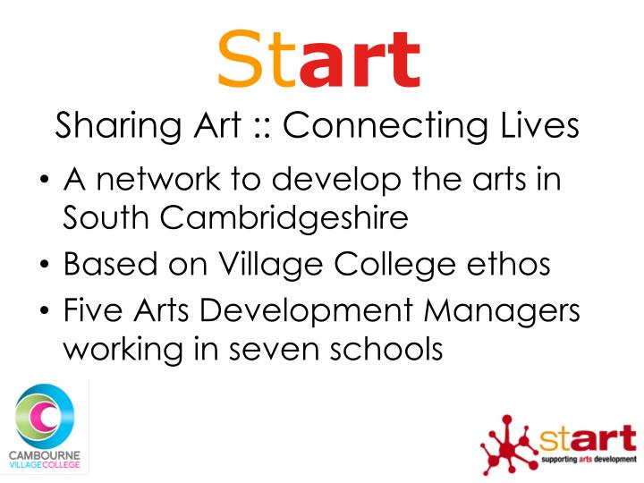 St art sharing art connecting lives