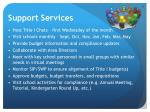 support services
