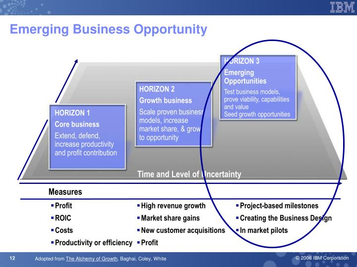 Emerging Business Opportunity
