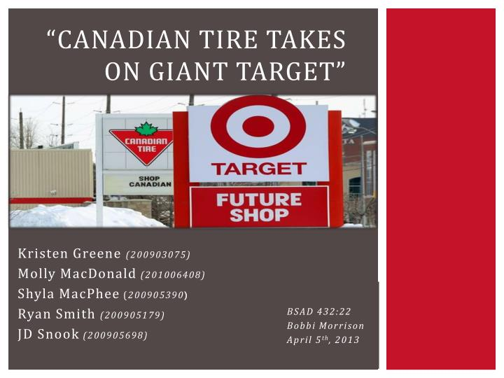 canadian tire takes on giant target n.