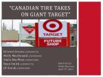 canadian tire takes on giant target