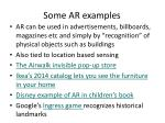 some ar examples