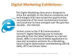 digital marketing exhibitions