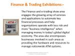 finance trading exhibitions