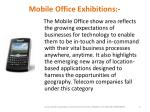 mobile office exhibitions