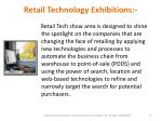 retail technology exhibitions