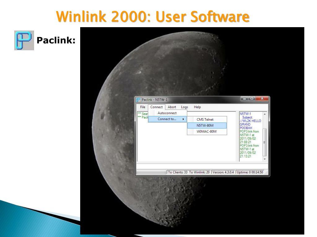 PPT - Winlink 2000 Webinar PowerPoint Presentation - ID:1667192