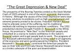 the great depression new deal1