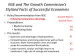 nse and the growth commission s stylized facts of successful economies